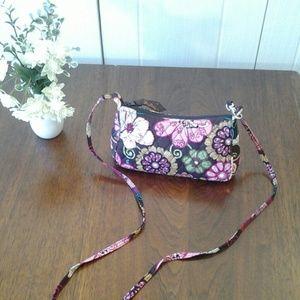 Vera Bradley Mod Floral Pink Small Crossbody Purse